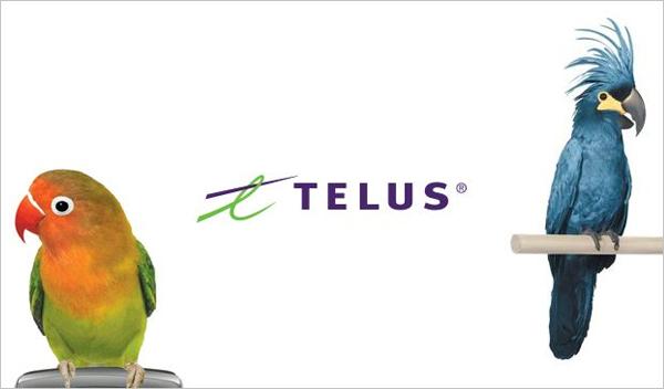 Telus telecom ads