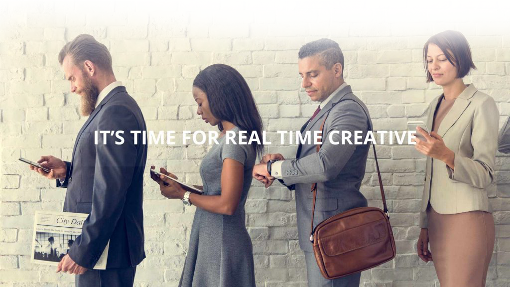 real time creative for programmatic display advertising